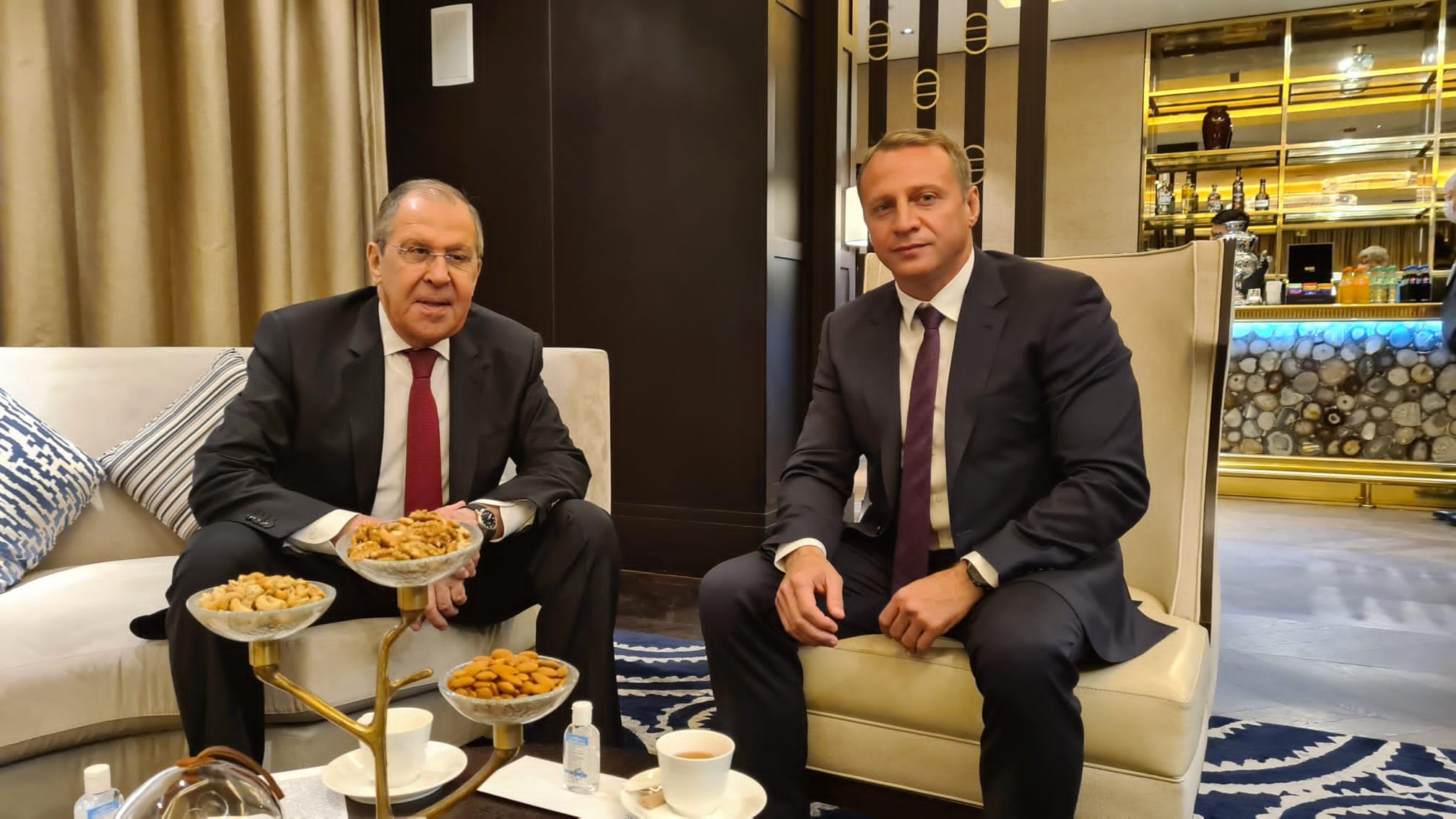 Министр туризма Израиля и Министр иностранных дел РФ обсудили возможность скорейшего открытия границ между странам