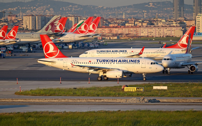 картинки самолеты турецкие авиалинии гарнизоне была