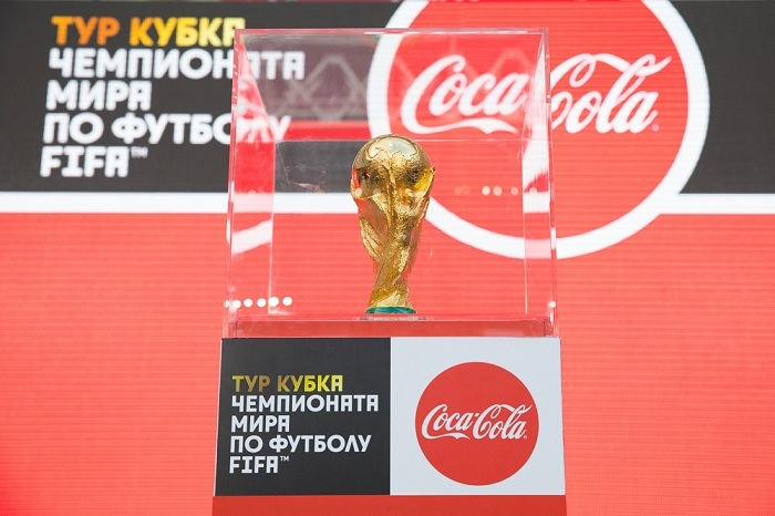 16 тыс. человек увидели кубок чемпионата мира вСочи