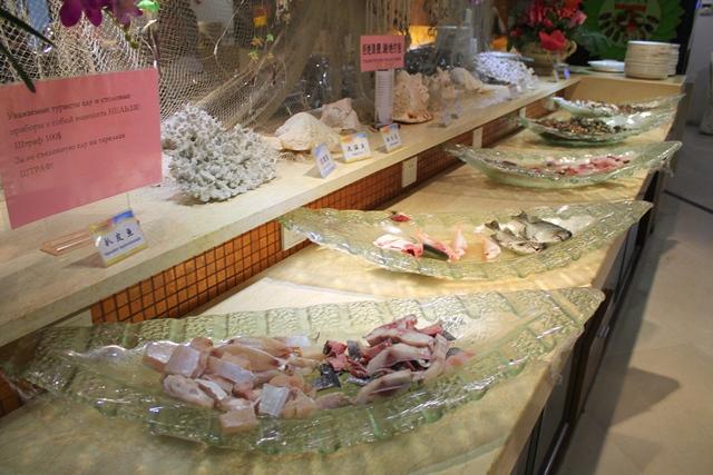 Морепродукты в Турции