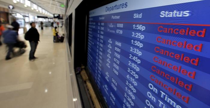 Аварийное отключение электрической энергии случилось водном изкрупнейших аэропортов США
