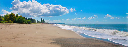 alean abkhazia 5 Абхазские пляжи