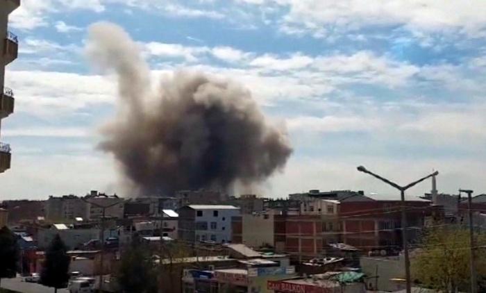 ВТурции произошел взрыв около отдела милиции