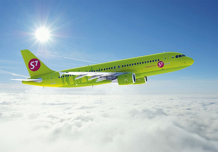 S7 Airlines открывает рейсы вМинск изНовосибирска