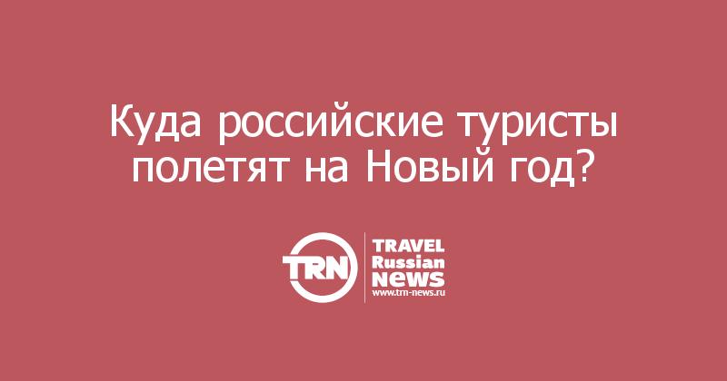 Куда российские туристы полетят на Новый год?